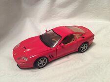 Maisto Ferrari 550 Maranello 1:24 in Red Model Car