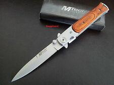 "Stiletto 4-7/8"" Liner Lock,Folding Pocket Knife,Work,Fishing,Bush,Hunting"