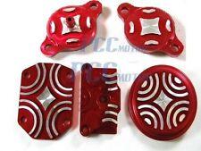 RED CNC ENGINE DRESS UP KIT Honda CRF50 LIFAN 125 SSR SDG 107 110 Bike M DU04