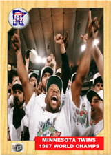1987 TWINS WIN THE WORLD SERIES ACEO ART CARD ## BUY 5 GET 1 FREE# KIRBY PUCKETT