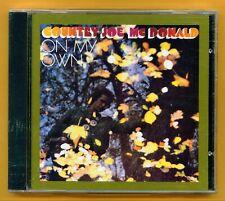 Country Joe McDonald - On My Own - 1980 - NEW CD