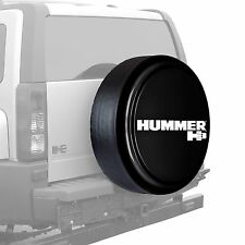 "33"" Hummer H3 Logo - Rigid Tire Cover - Painted - Black"