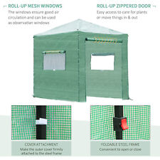 Portable Outdoor Walkin Greenhouse Garden Plant Shed House Canopy Foldable Frame