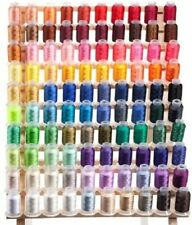 100 Spools Polyester Embroidery Machine Thread  QUALITY
