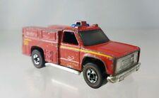 Hot Wheels Emergency Squad Rescue Redline Red - 1975