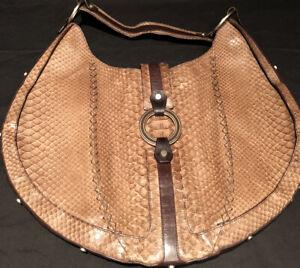 Genuine Alexander Mcqueen Leather Hobo Bag
