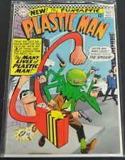 PLASTIC MAN #2 - 1967 (7.0) THE MANY LIVES OF PLASTIC MAN!