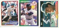 Willie Randolph Lot of 3 different New York Yankees baseball cards  exmt