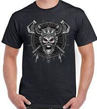 Skull Short Sleeve Loose Fit T-Shirts for Men