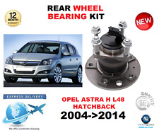 FOR OPEL ASTRA H REAR WHEEL BEARING L48 LEFT or RIGHT HAND SIDE 2004->2014