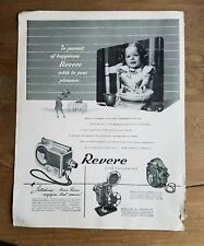 1948 Revere camera equipment little girl yellow Ware Mixing Bowl ad
