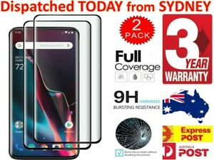 OnePlus 8T Pro 8 7 7T 6 6T 5 5T 3T Screen Protector Full Coverage Tempered Glass