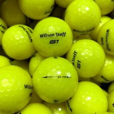 NEW Wilson Staff 50 / Fifty Elite Yellow Bulk Golf Balls - Pick the Quantity!