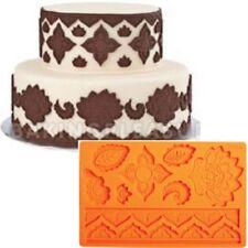 "Wilton:cake design: fondant mold ""Global"" stampo silicone"