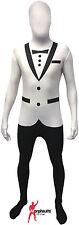 Original Morphsuits White Tuxedo Adult Suit Character Morphsuit ,MEDIUM NEW