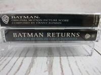 Vintage Cassette Tape Lot BATMAN Movie Score BATMAN RETURNS Original Soundtrack