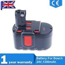1.3ah Battery for Bosch 2607335537 2607335538 13624 24 Volt Ni-cd Cordless Drill