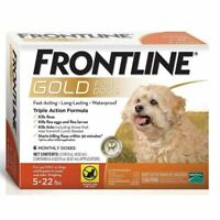 Frontline Gold for Small Dogs 5-22 lbs, 6 Doses (NEW & Free Shipping)