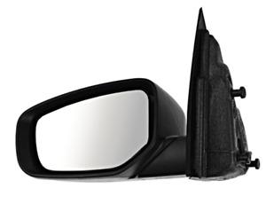 Fits 13-15 Dart Left Driver Mirror Manual Textured Black No Blind Spot