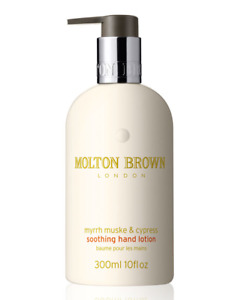 Molton Brown Myrrh Musk and Cypress Enriching Hand Lotion Brand New Full Size