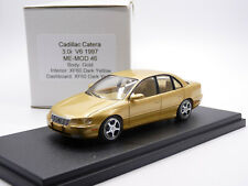 Me-Mod 46 1/43 1997 Cadillac Catera 3.0 V6 Resin Handmade Model Car Gold XF60