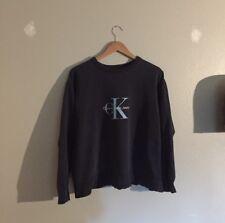 Calvin Klein vintage jumper / sweater navy ck logo sz M