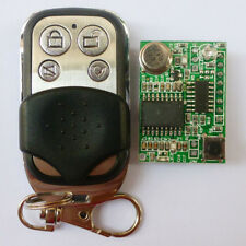 4 Ch Hopping Code HCS301 Decoder Modules ASK OOK UHF Transmitter Key Fob 433MHZ