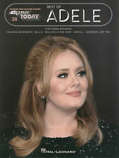E-Z Play Today 38 - SONGS FROM ADELE - Easy Keyboard Organ Songs Music Book EZ