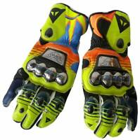 MOTOGP LEATHER GLOVES MOTORBIKE LEATHER MOTORCYCLE COWHIDE LEATHER BIKERS GLOVES
