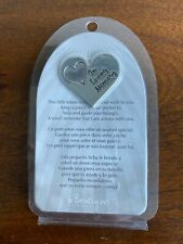 In Loving Memory - Silver Memorial Wish Tokens