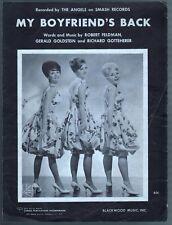 My Boyfriend's Back 1963 The Angels Sheet Music