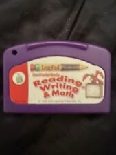 Leap Frog Reading Writing and Math Pre-K - 1st Grade Game Cartridge Leap Pad