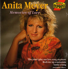 ANITA MEYER Memories Of Love Original CD © ARIOLA EXPRESS - LIKE NEW