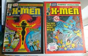 X-MEN Rampage Magazine January & April 1982 No.43 & 46 Marvel Comics