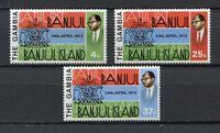 27703) Gambia 1973 MNH New Banjul 3v