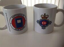 More details for hm prison service ceramic mug happines is door shaped prison officer gift