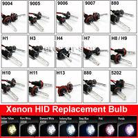 Coppia Lampade XENON HID Bulbo H1 H7 H3 H4 H11 D1S Ricambio Kit Fari Xeno 35/55W