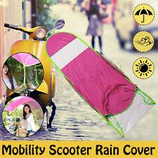 Universal Car Motor Scooter Pink Umbrella Mobility Sun Shade Rain Cover