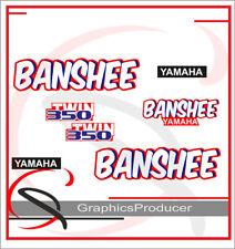 Yamaha Banshee Decals 1989 White Model Graphic Reproduction Custom Full Set