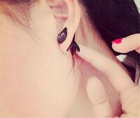 Fashion Women Lovely Cute Cat Puncture Ear Stud Womens Earring Earrings