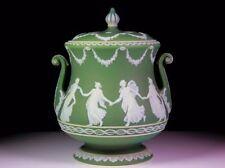 Green British Wedgwood Porcelain & China