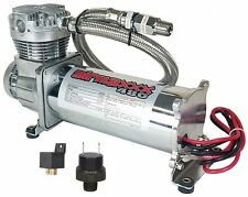 Air Ride System Compressor Chrome AirMaxxx 480 Air Horn Suspension 150 Switch