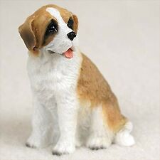 Saint Bernard, Rough Coat, Dog Figurine, Tiny Ones
