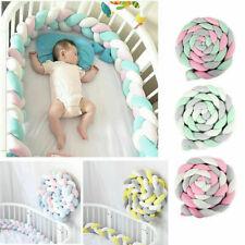 Crib Protector Baby Bed Bumper Bedding Knot Newborn Cushion Home Decor Pillow