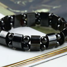 Fashion Black Magnetic Hematite Bracelet for Arthritis and Blood Pressure NP