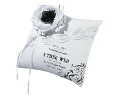 wedding ring bearer pillow true love design ringbearer pillow