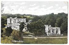 Furness Abbey PPC Abinger Hammer 1905 Duplex PMK to Pangbourne, Berkshire