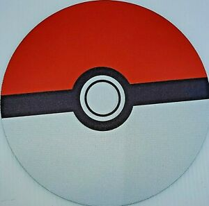 Pokemon Pokeball Mouse Pad