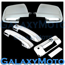 07-12 TOYOTA TUNDRA Chrome Mirror+2 Door Handle No PSG K.H+Tailgate+KH Cover