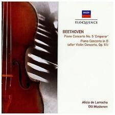 Beethoven: Piano Concerto No.5, Concerto In D Major For Piano & Orchestra...
